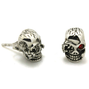 Wholesale-Price-Mens-Boys-316L-Stainless-Steel-Cool-Ruby-Crystal-Eye-Pirate-font-b-Skull-b